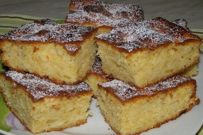 Сладкий пирог для лентяек